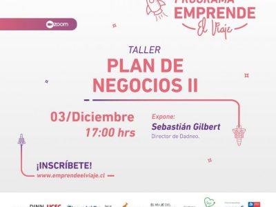 Taller 1: Plan de Negocios II (E-4)