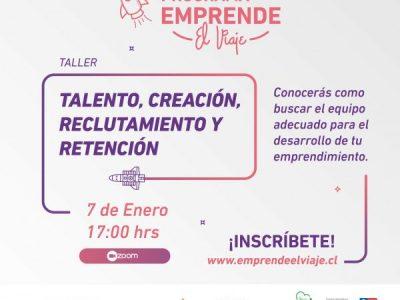 Taller 8: Talento, Creación, Reclutamiento y Retención (E-4)