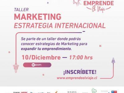 Taller 9: Marketing – Estrategia Internacional (E-4)