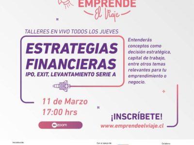 Taller 3: Estrategias financieras, IPO, Exit, Levantamiento serie A (E-5)