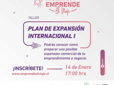 Taller 2: Plan de Expansión Internacional I (E-3)