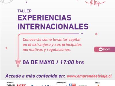 Taller 6: Experiencias Internacionales (E-5)