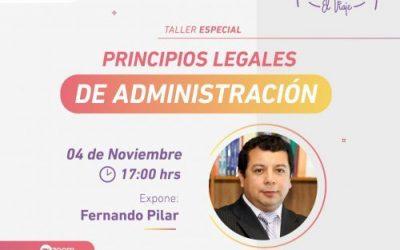 Principios Legales de Administración