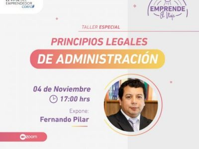 Taller 3: Principios Legales de Administración (E-2)