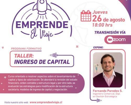 Taller: Ingreso de Capital (E-4)