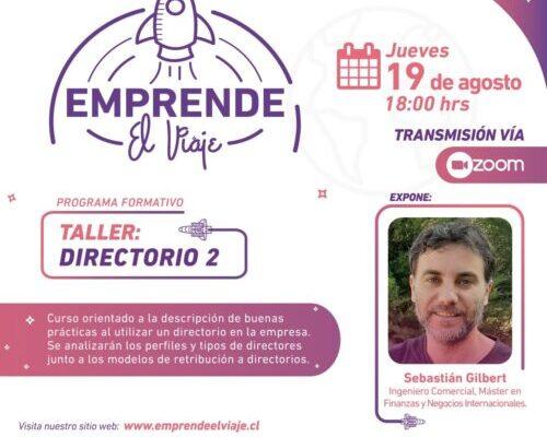Taller: Directorio II (E-5)