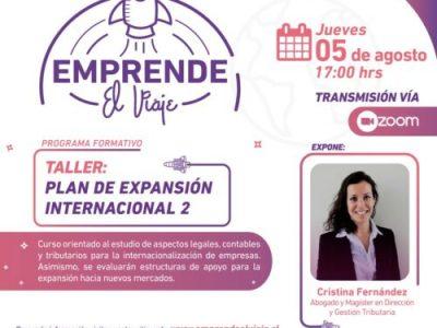 Taller: Plan de Expansión Internacional II (E-4)