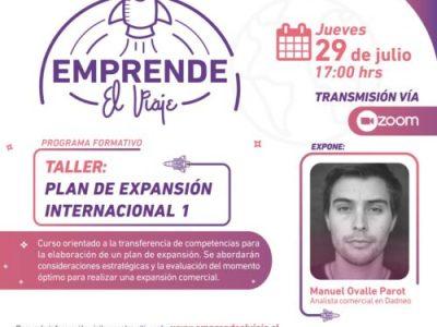 Taller: Plan de Expansión Internacional 1 (E-3)