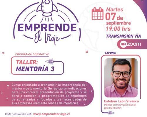 Taller: Mentoría 3 (E-4)